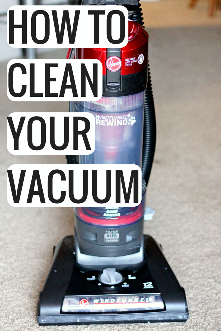 How To Deep Clean Your Vacuum Cleaner